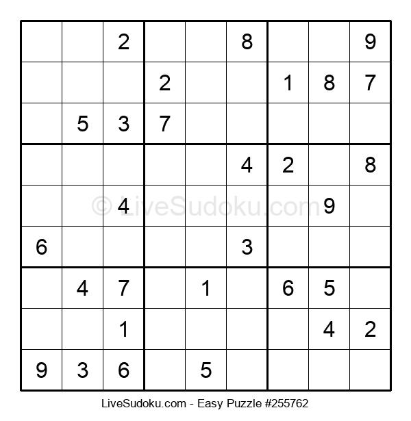Beginners Puzzle #255762