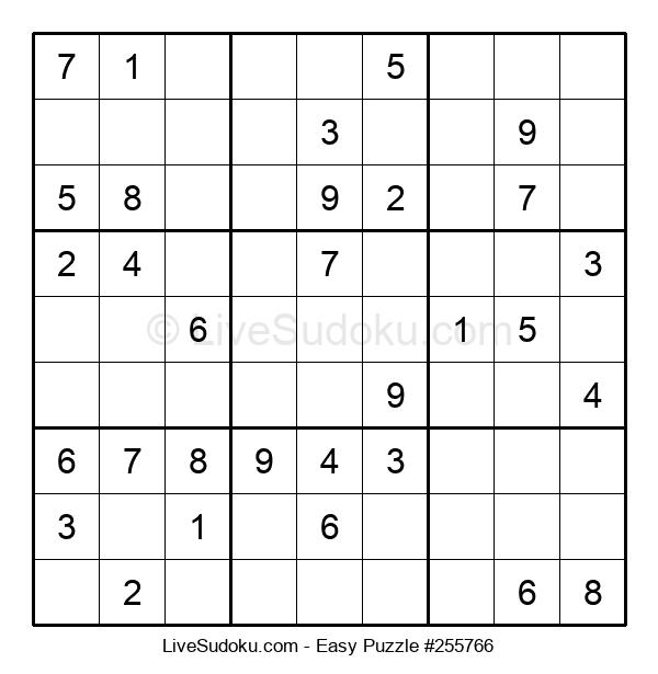 Beginners Puzzle #255766