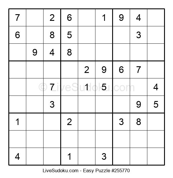 Beginners Puzzle #255770