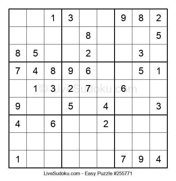 Beginners Puzzle #255771
