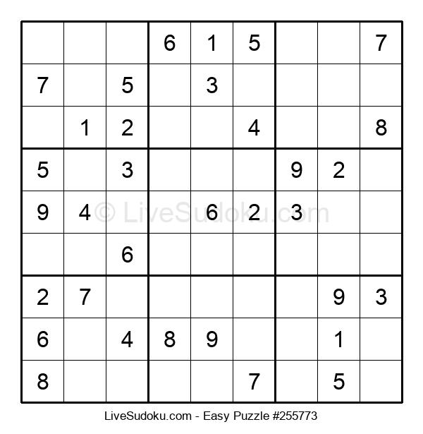 Beginners Puzzle #255773