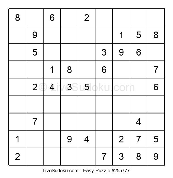 Beginners Puzzle #255777