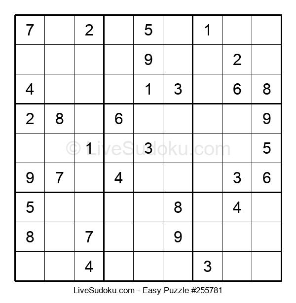 Beginners Puzzle #255781