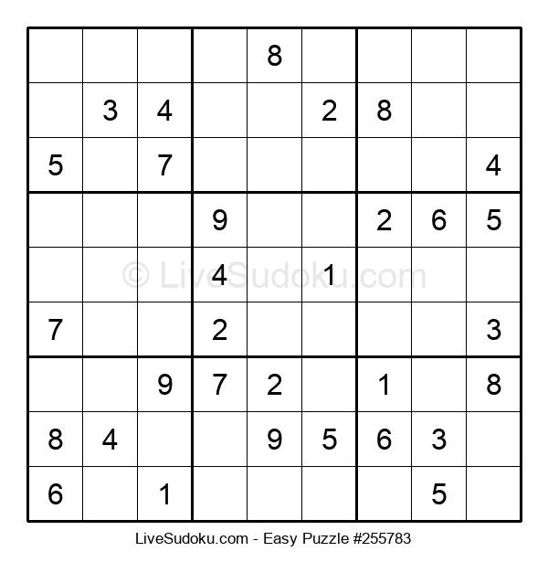 Beginners Puzzle #255783