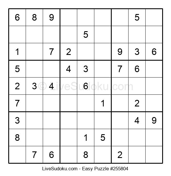 Beginners Puzzle #255804