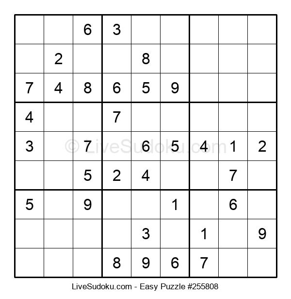 Beginners Puzzle #255808