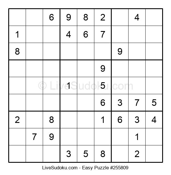 Beginners Puzzle #255809