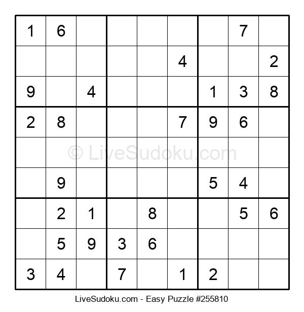 Beginners Puzzle #255810