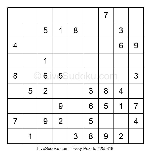 Beginners Puzzle #255818