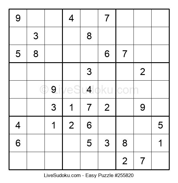 Beginners Puzzle #255820