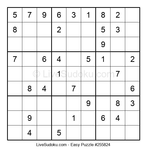 Beginners Puzzle #255824