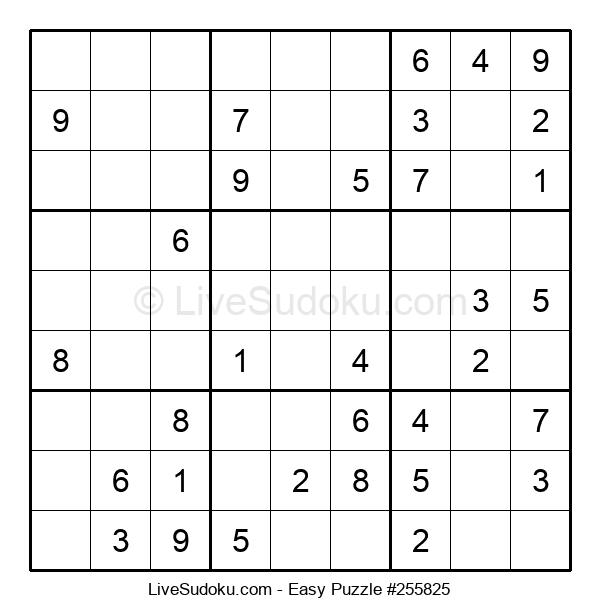 Beginners Puzzle #255825