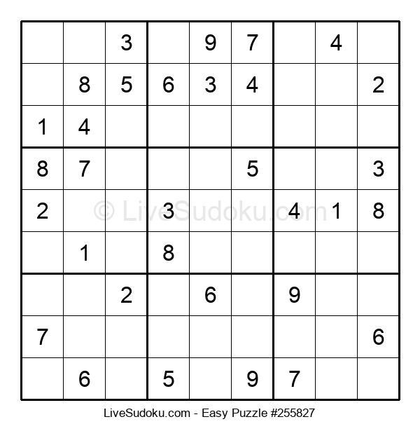 Beginners Puzzle #255827