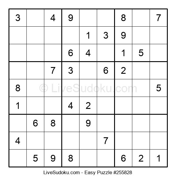 Beginners Puzzle #255828