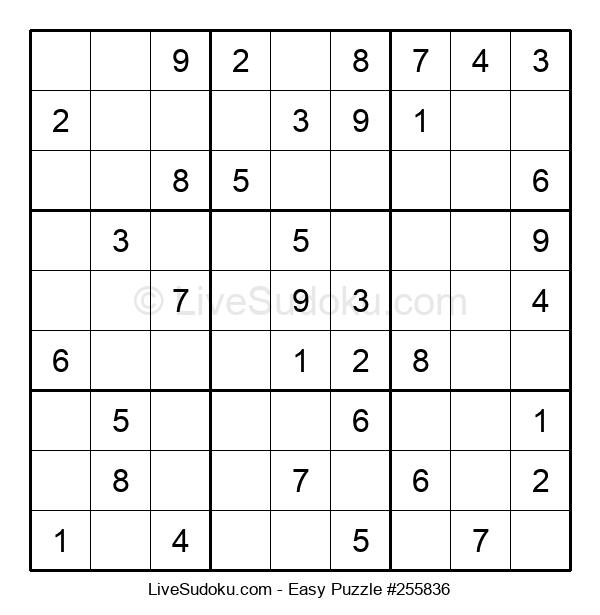Beginners Puzzle #255836