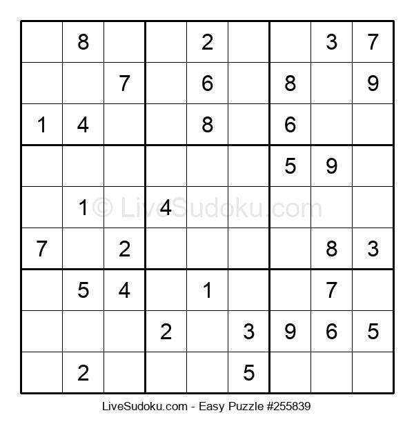 Beginners Puzzle #255839