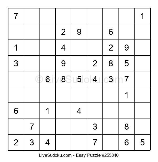 Beginners Puzzle #255840