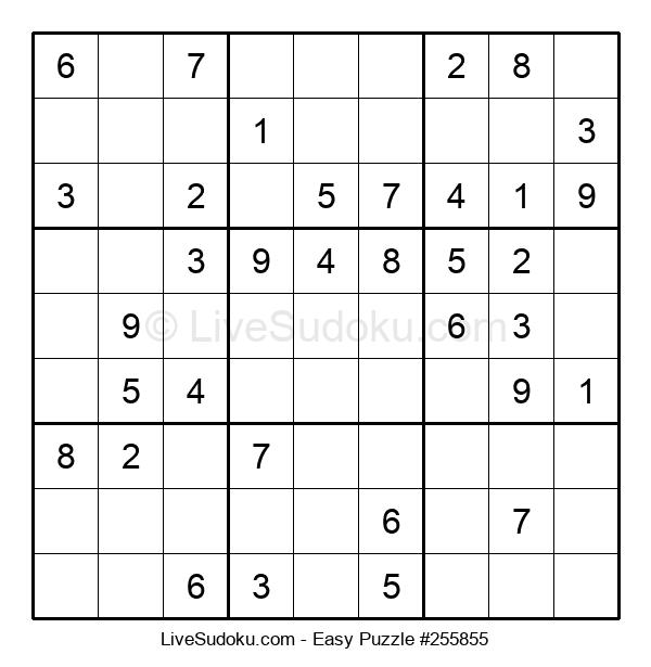 Beginners Puzzle #255855
