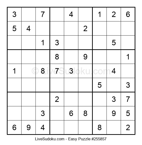 Beginners Puzzle #255857