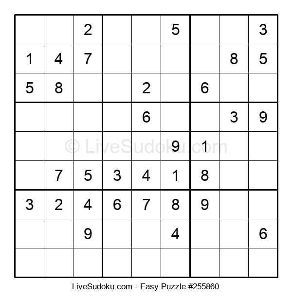 Beginners Puzzle #255860