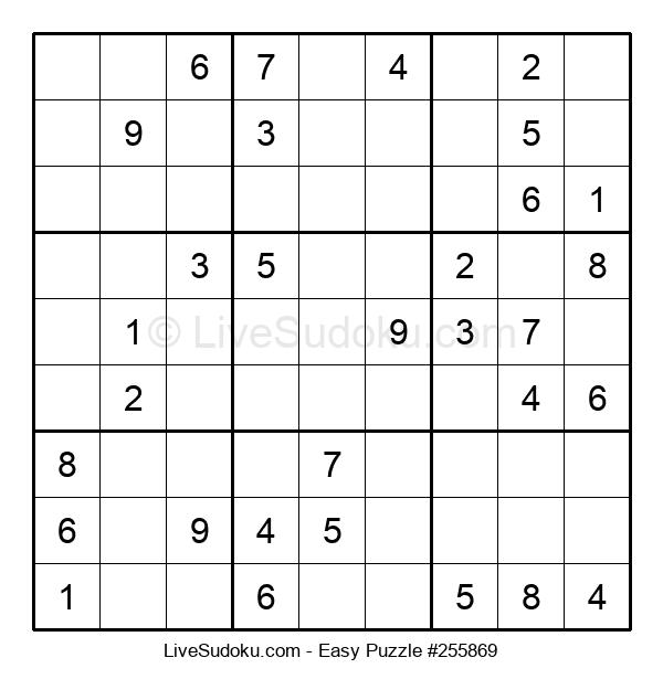 Beginners Puzzle #255869