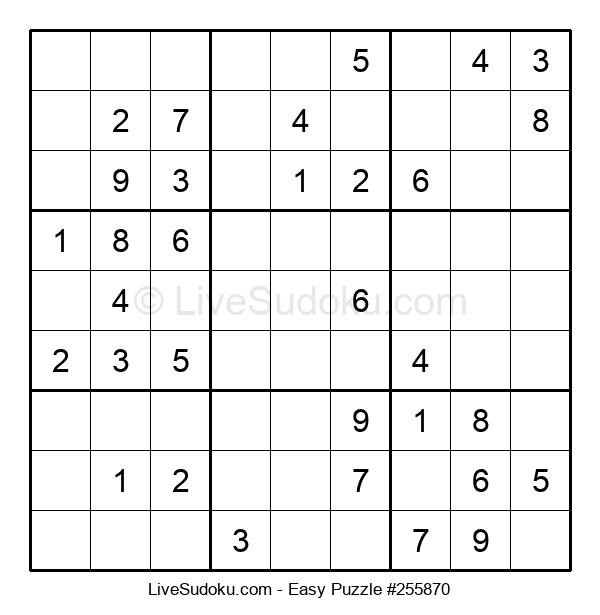 Beginners Puzzle #255870