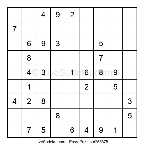 Beginners Puzzle #255875