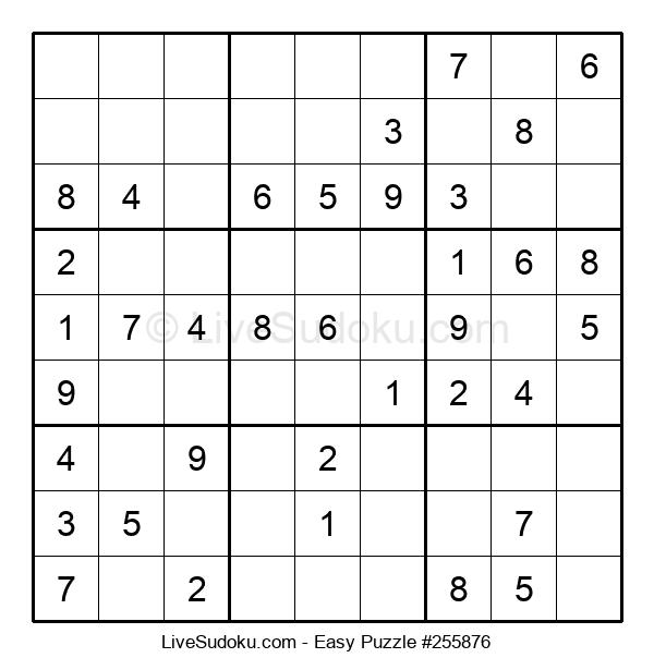 Beginners Puzzle #255876