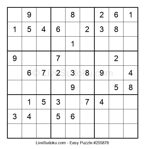 Beginners Puzzle #255878