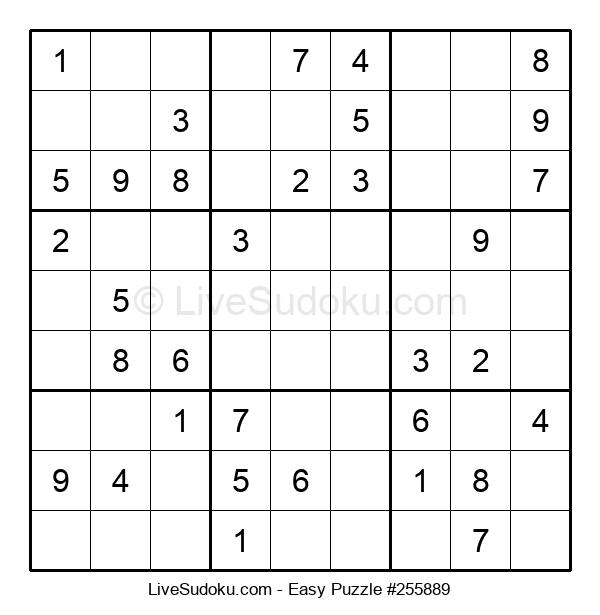 Beginners Puzzle #255889