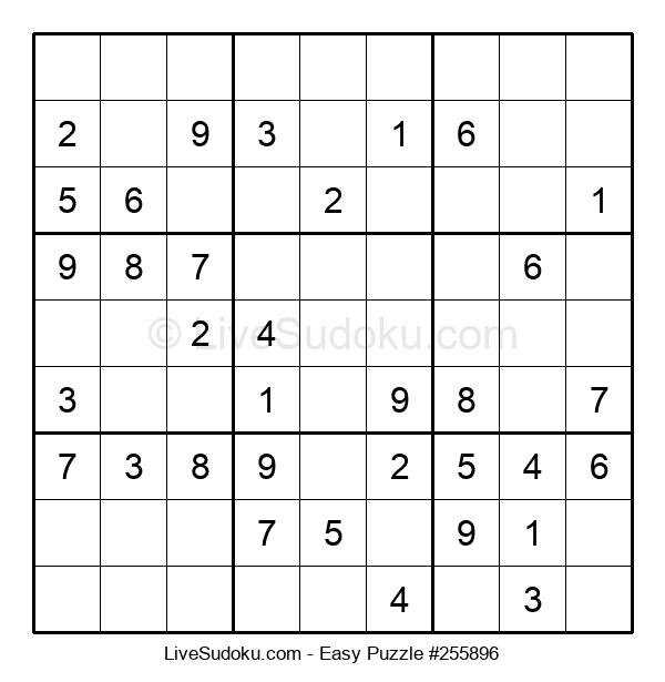 Beginners Puzzle #255896
