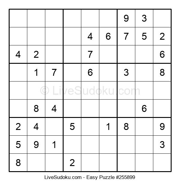 Beginners Puzzle #255899