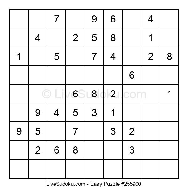 Beginners Puzzle #255900