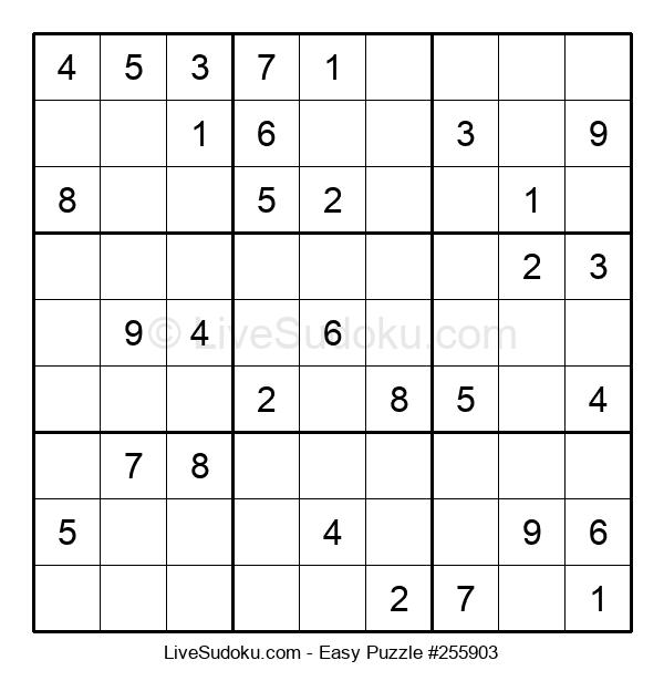 Beginners Puzzle #255903