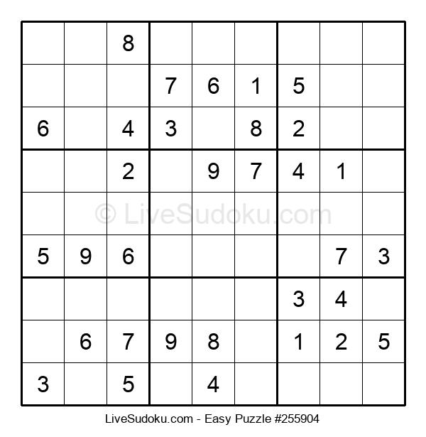 Beginners Puzzle #255904