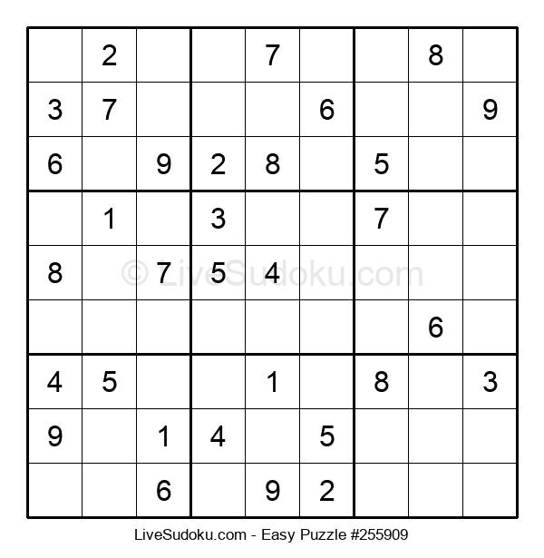 Beginners Puzzle #255909