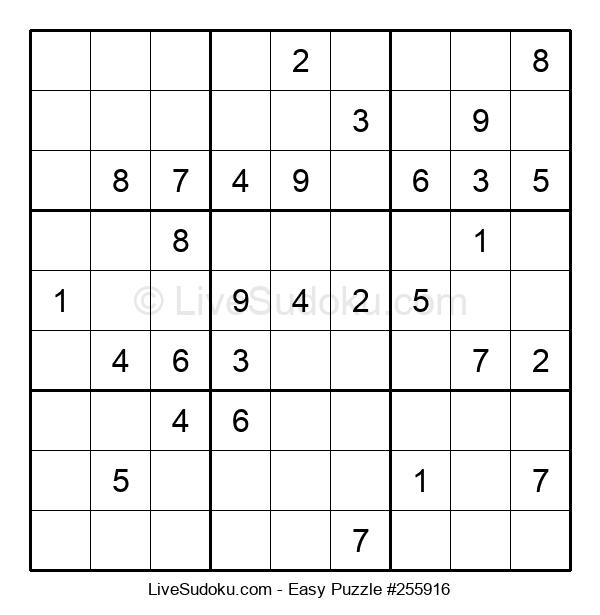 Beginners Puzzle #255916