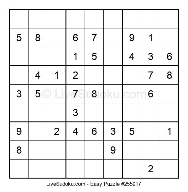 Beginners Puzzle #255917