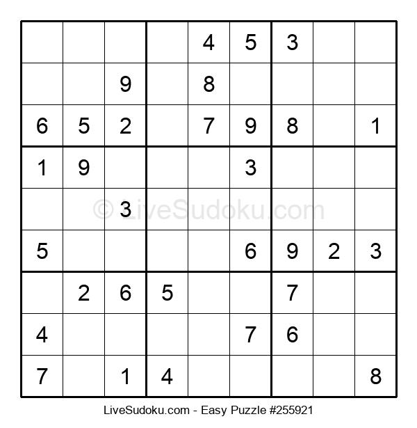 Beginners Puzzle #255921