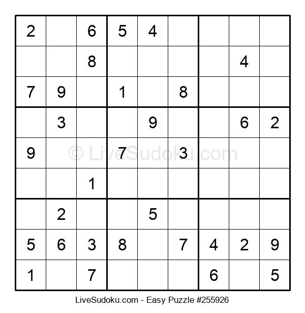 Beginners Puzzle #255926