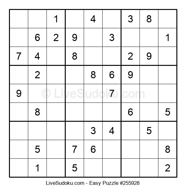 Beginners Puzzle #255928