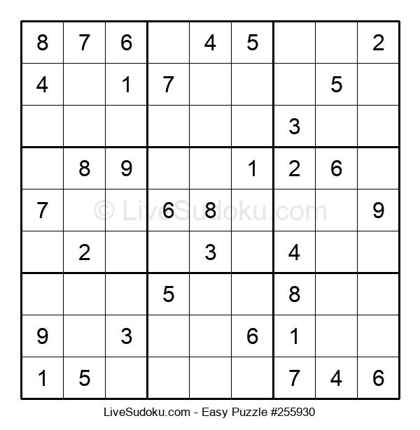 Beginners Puzzle #255930