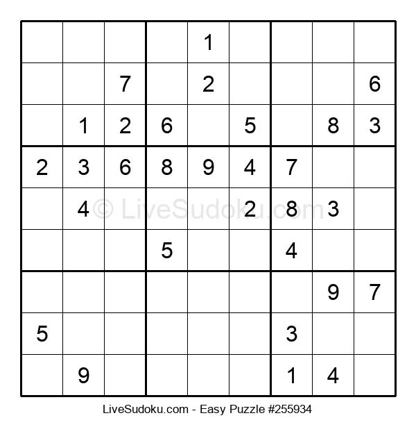 Beginners Puzzle #255934
