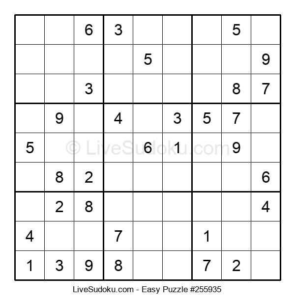 Beginners Puzzle #255935