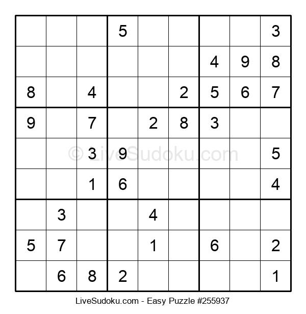 Beginners Puzzle #255937