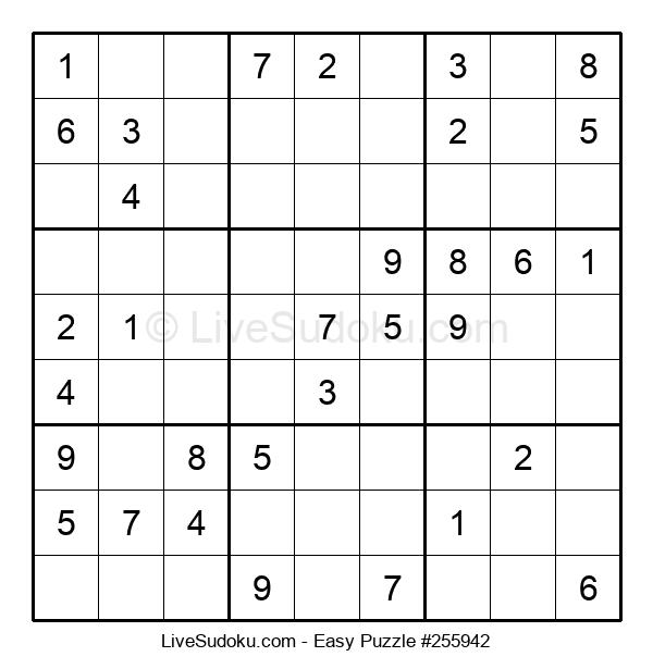 Beginners Puzzle #255942