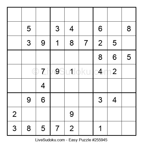 Beginners Puzzle #255945
