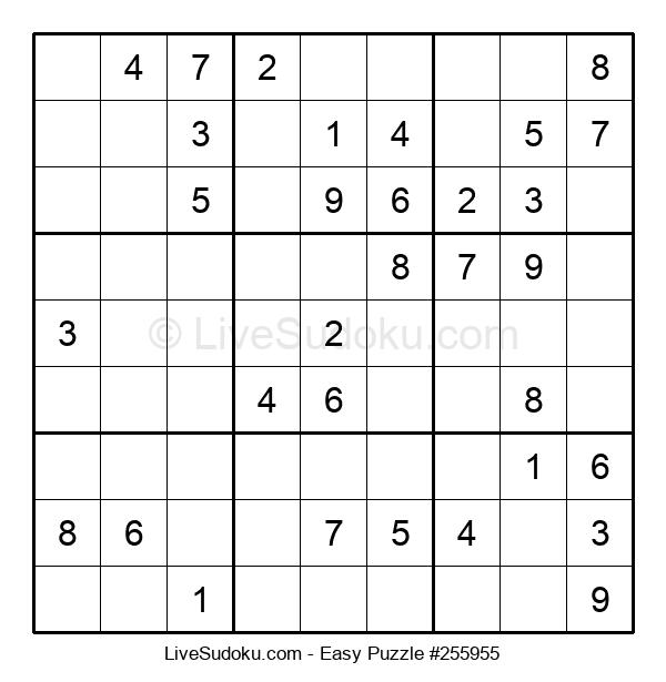 Beginners Puzzle #255955