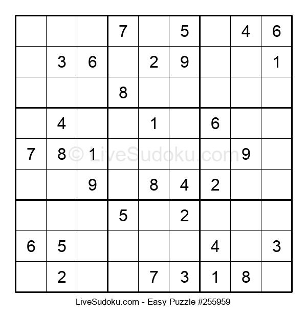 Beginners Puzzle #255959