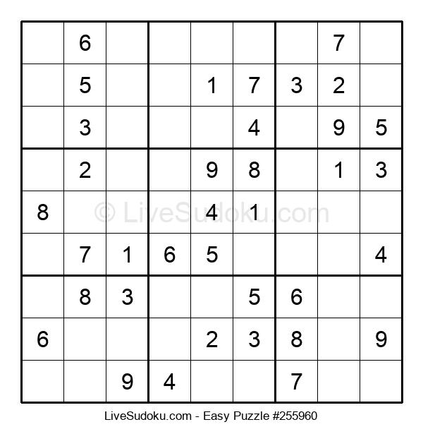 Beginners Puzzle #255960